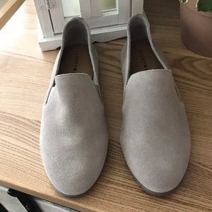 Lucky- suede loafers